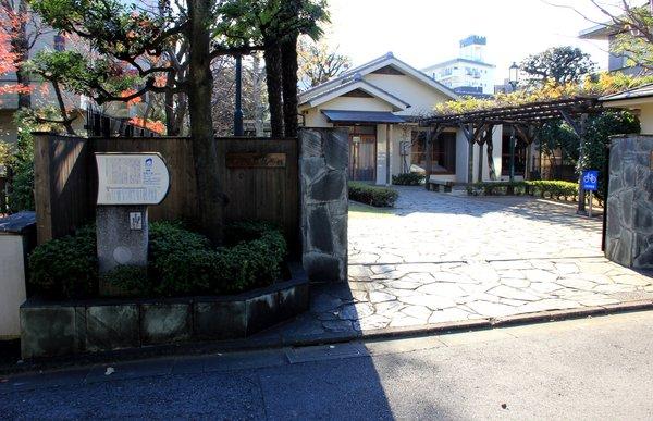 尾崎士郎記念館ー入口.jpg